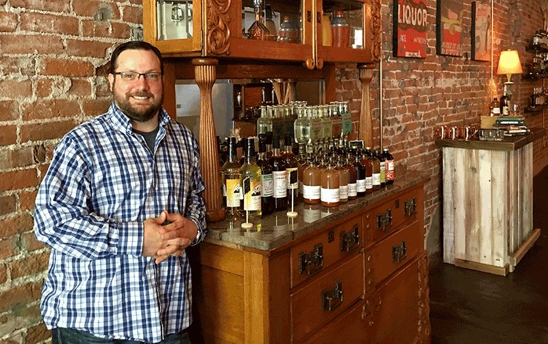 Seth Allen recently opened one of downtown Lee's Summit's newest businesses, Libations & Co, at 23 SE Third Street.