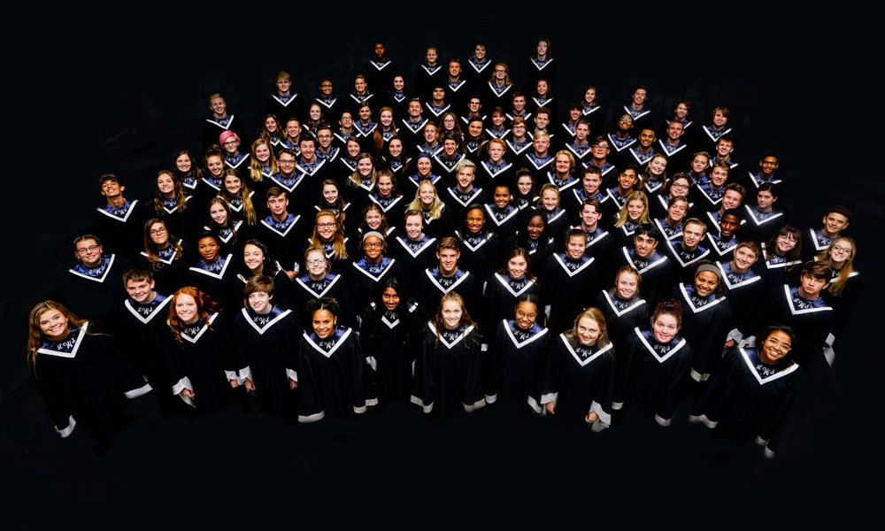 he Lee's Summit West High School Concert Choir