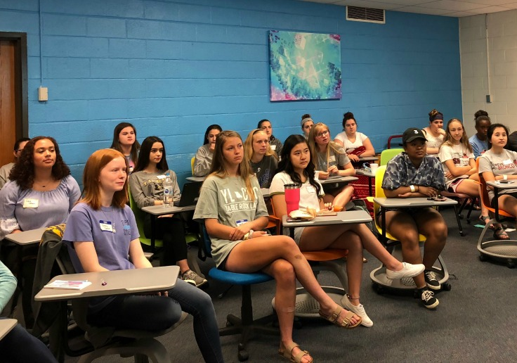 SMART clubs get together for leadership training.