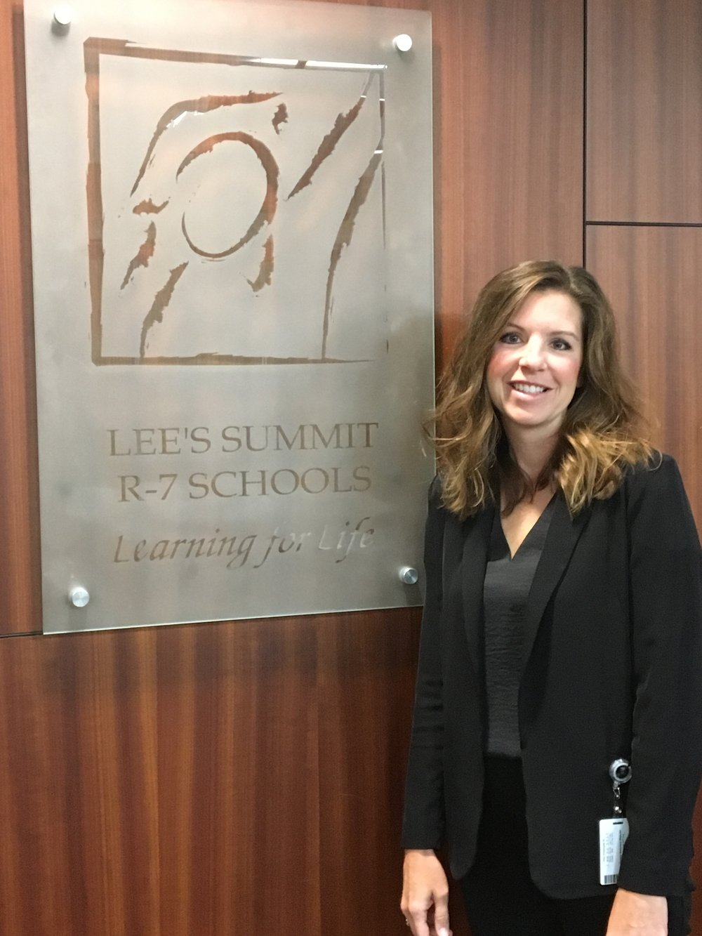 Kelly Wachel is the executive director of communications for the Lee's Summit R-7 School District.