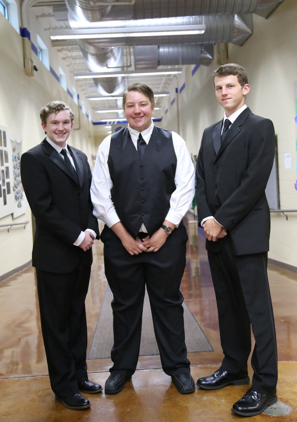 SCA Junior William Chapman, Sophomore Ryan Wagy, and Junior Patrick Simpson were selected for the Kansas City Metro TTBB Honor Choir.