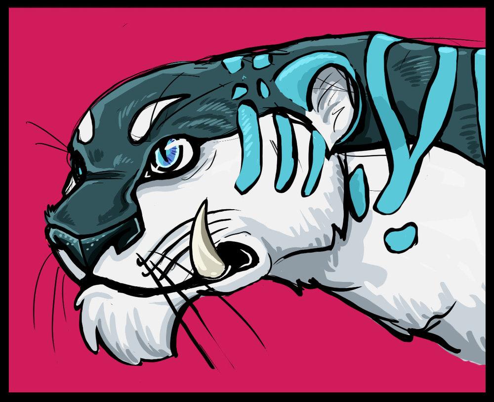 Blue Feline