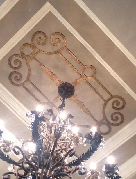 Two Story Foyer Ceiling Medallion