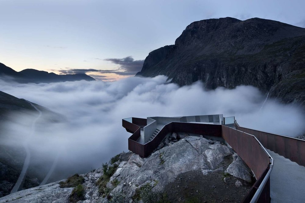 National Tourist Route Trollstigen  by Reiulf Ramstad Architects