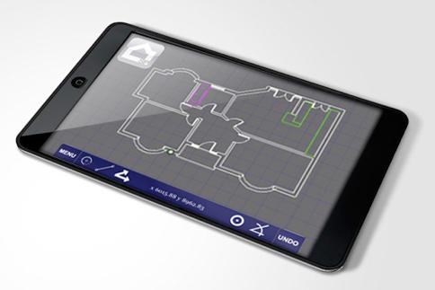 SitePAD concept on iPAD