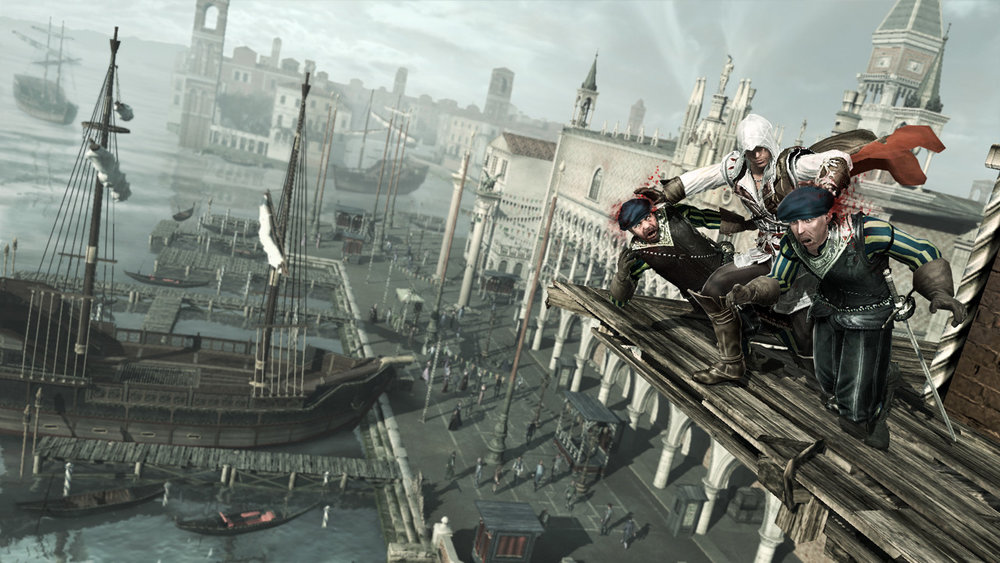 Scene from Assassin's Creed II. Image © Ubisoft Montreal