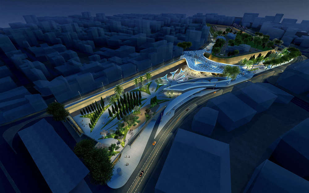 Eleftheria Square by    Zaha Hadid Architects   , via    Skyscrapercity