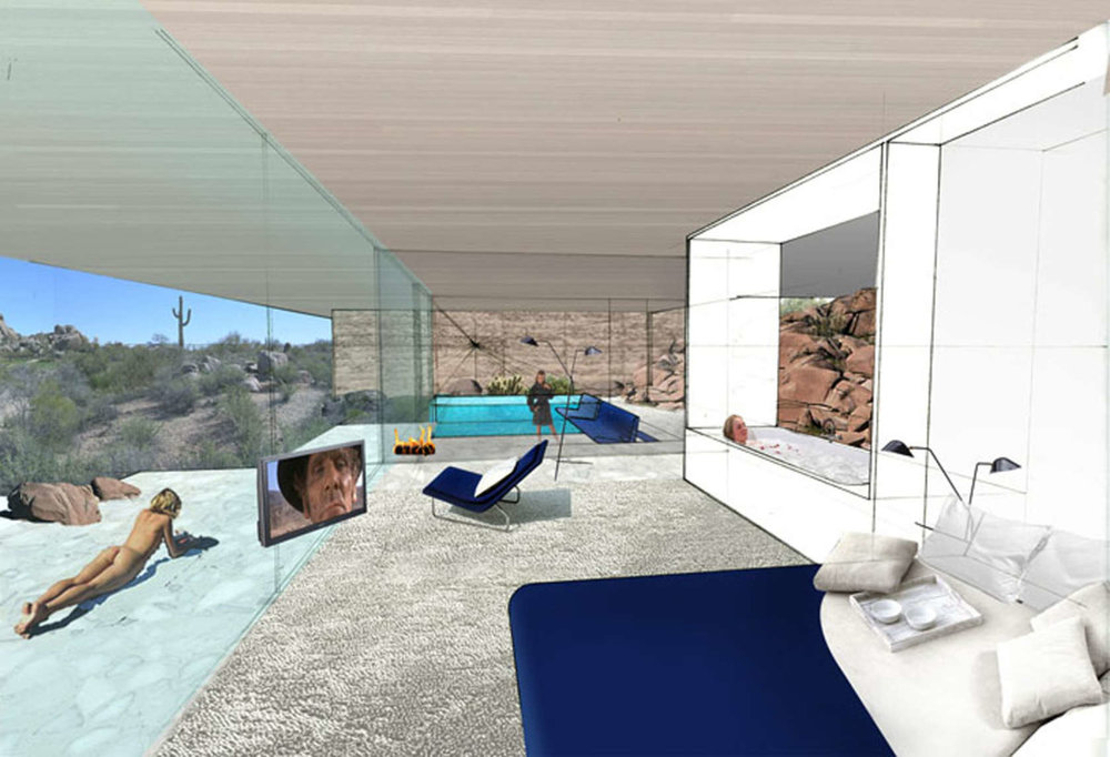 Boulders Resort by    Diller Scofidio + Renfro