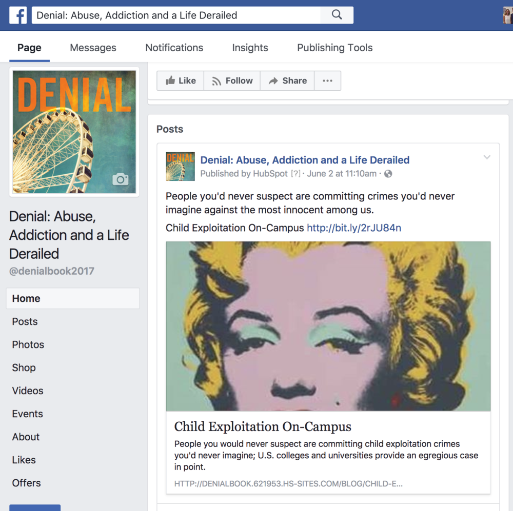 Denial Facebook Page.png