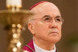 """#ViganoTestimony: """"Cardinal Wuerl, well aware of the continuous abuses committed by Cardinal McCarrick and the sanctions imposed...by Pope Benedict...allowed him to reside at a seminary in Washington D.C. In doing so, he put other seminarians at risk."""""""