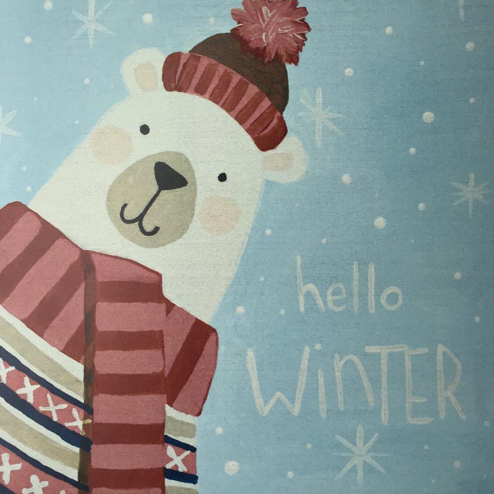 Hello Winter Polar Bear