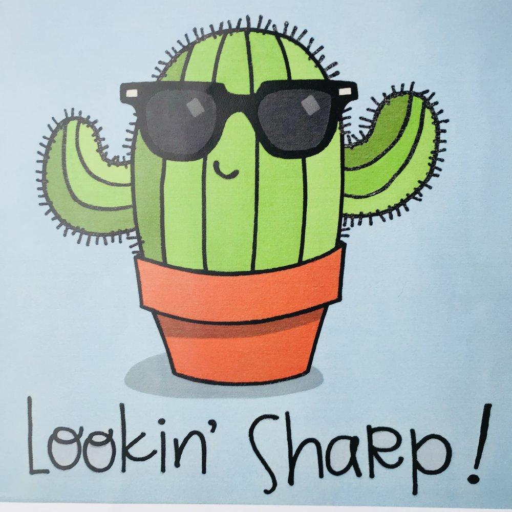 Lookin' Sharp