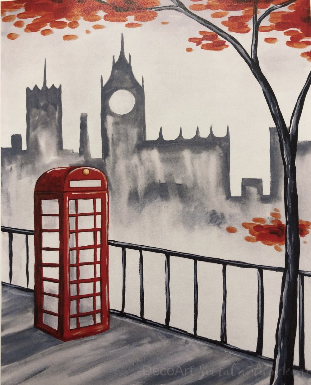 London in Fog