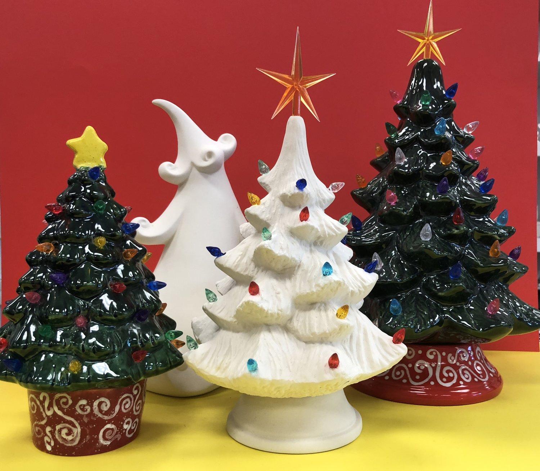 O\' Christmas Tree — Maggie & Ellie\'s Pottery and Art Studio
