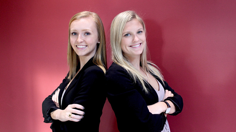 Kate Perkins-McVey and Maddie Gillmeister
