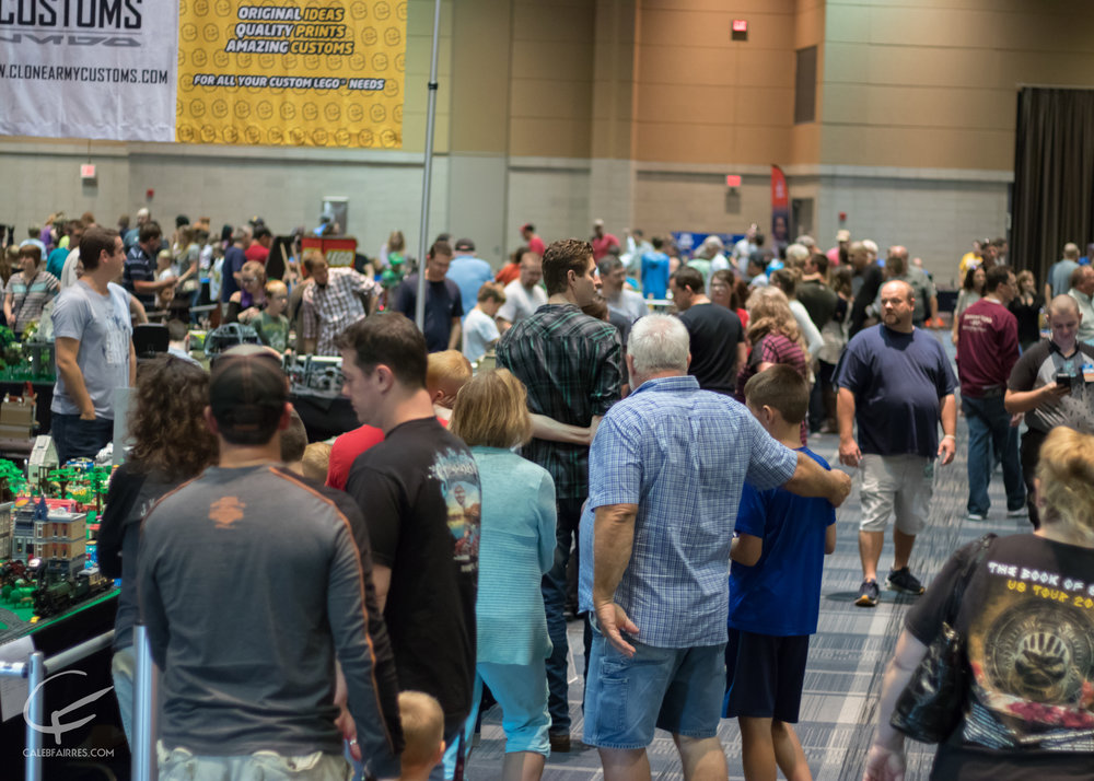 Brickworld Fort Wayne, Grand Wayne Convention Center, 2017