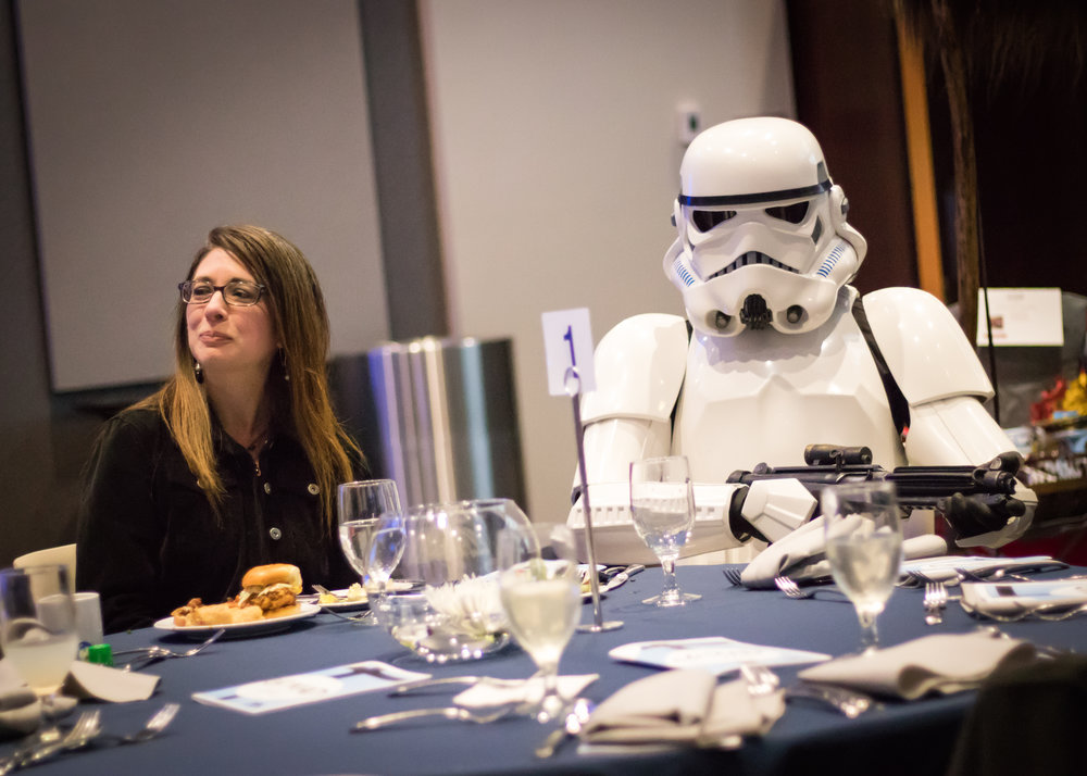 Go MAD Gala Fundraiser & Auction (with 501st NDG), Parkview Mirro Center for Research and Innovation, 2017