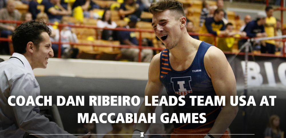 Daniel Ribeiro  led  Team USA  to  Silver  at the Maccabiah Games!