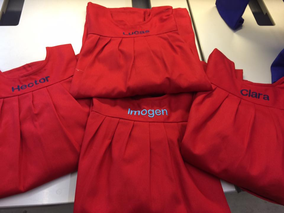 Embroidered Smocks - (smock not supplied)