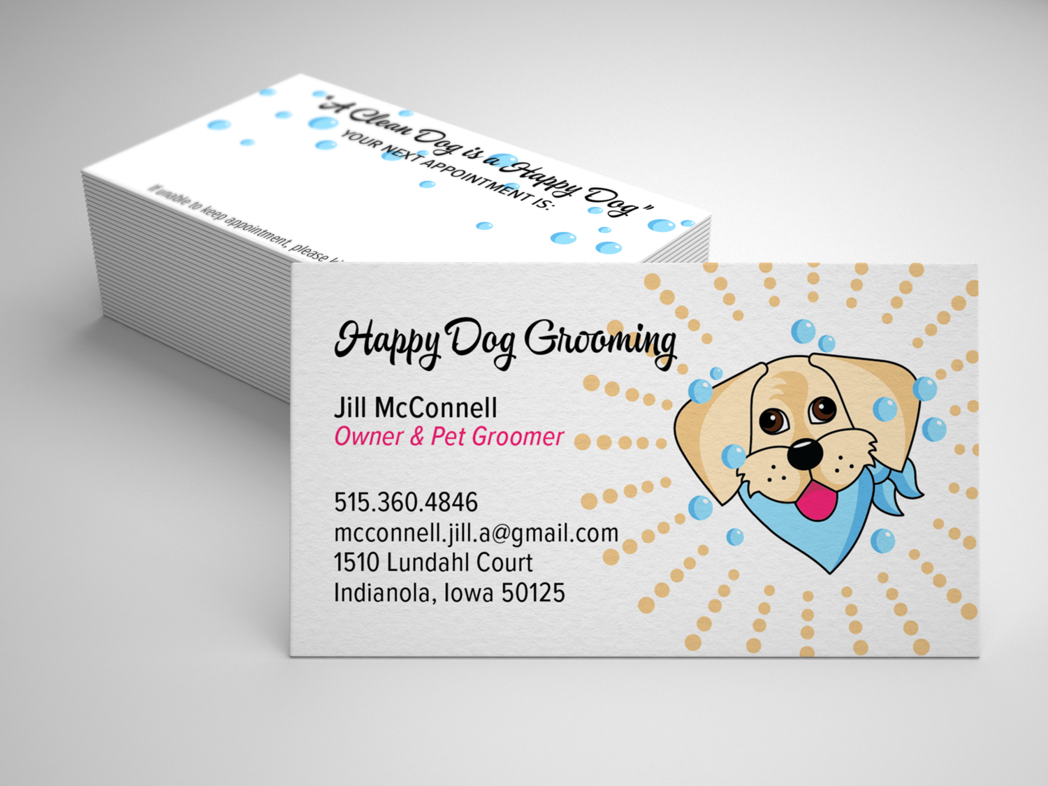 Happy Dog Grooming — Peggy Vespa