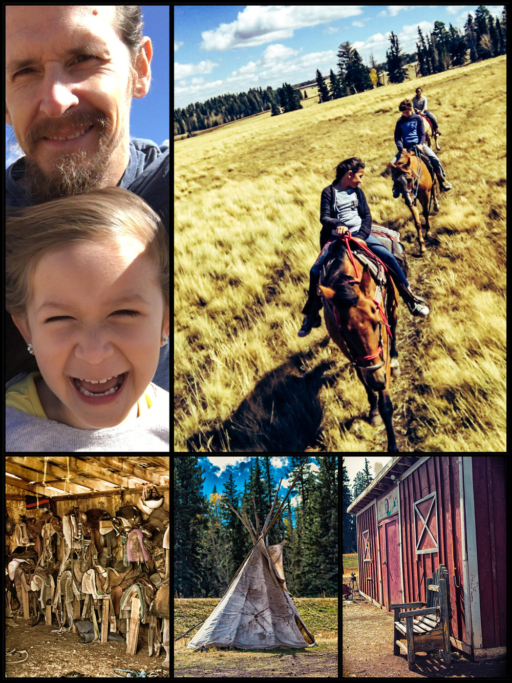 Horseback riding at Snowy Mountain Stables