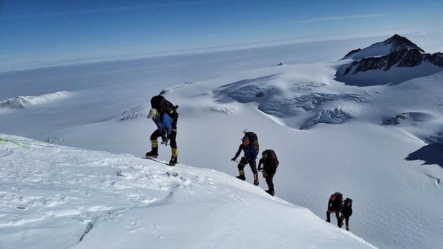 Mt. Vinson High Camp, 12,400ft