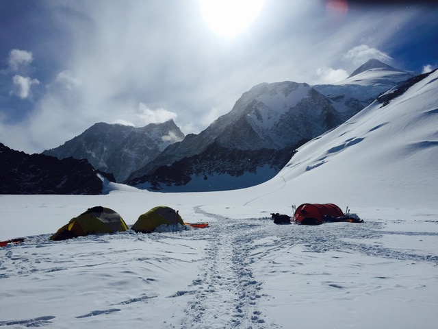 Mt. Vinson Base Camp, 6,900ft