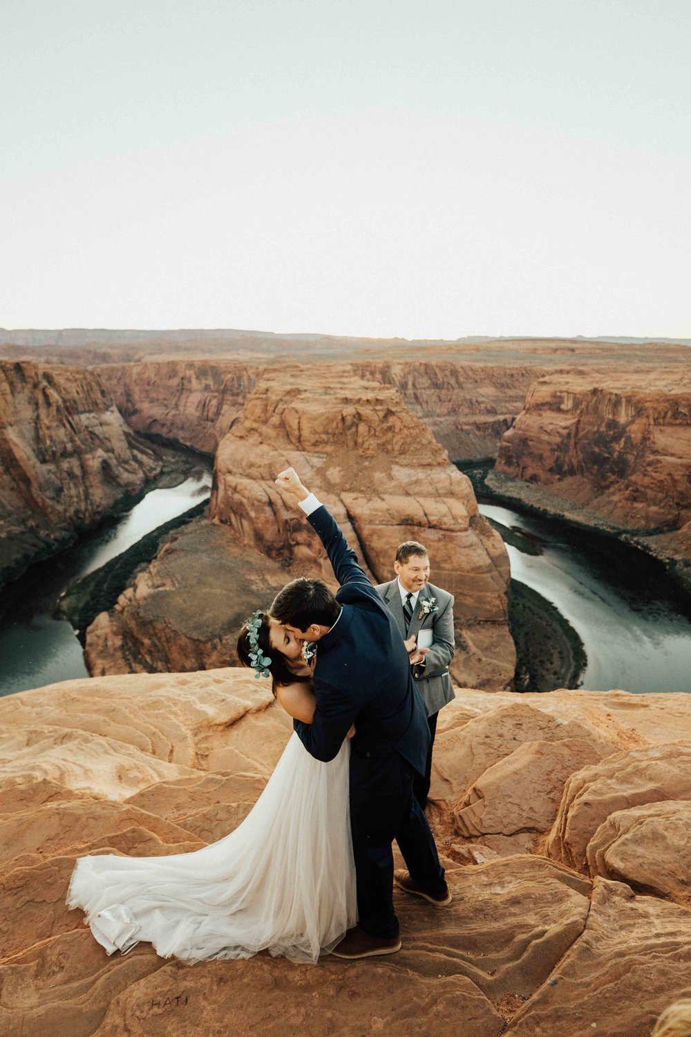 Horseshoe Bend Elopement Photographer