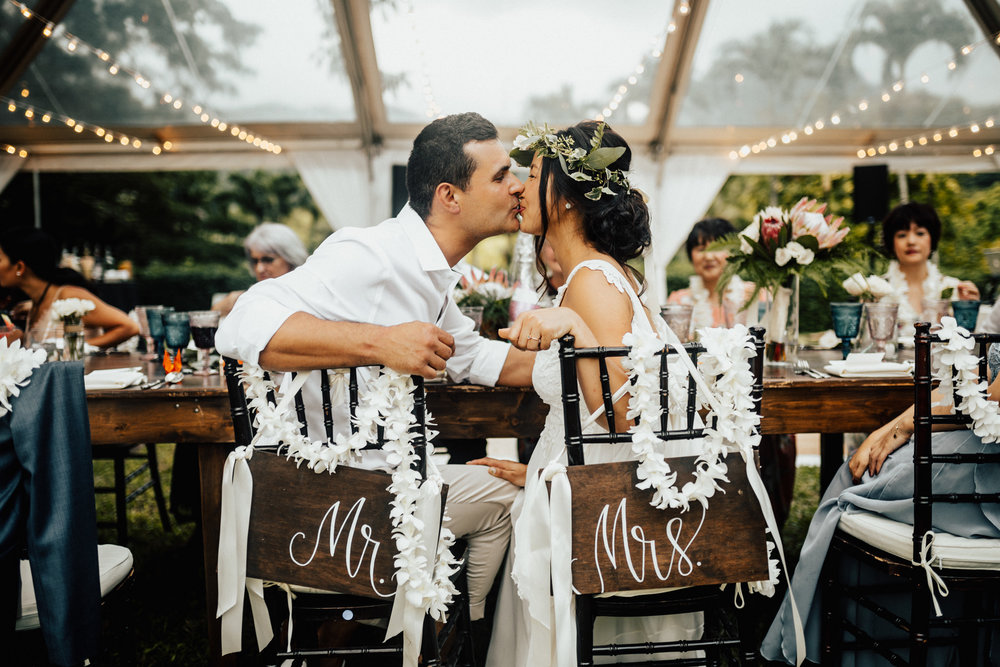 Kualoa Ranch Wedding Oahu Hawaii