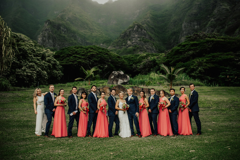 Kualoa Ranch Jurassic Park Wedding Oahu Hawaii