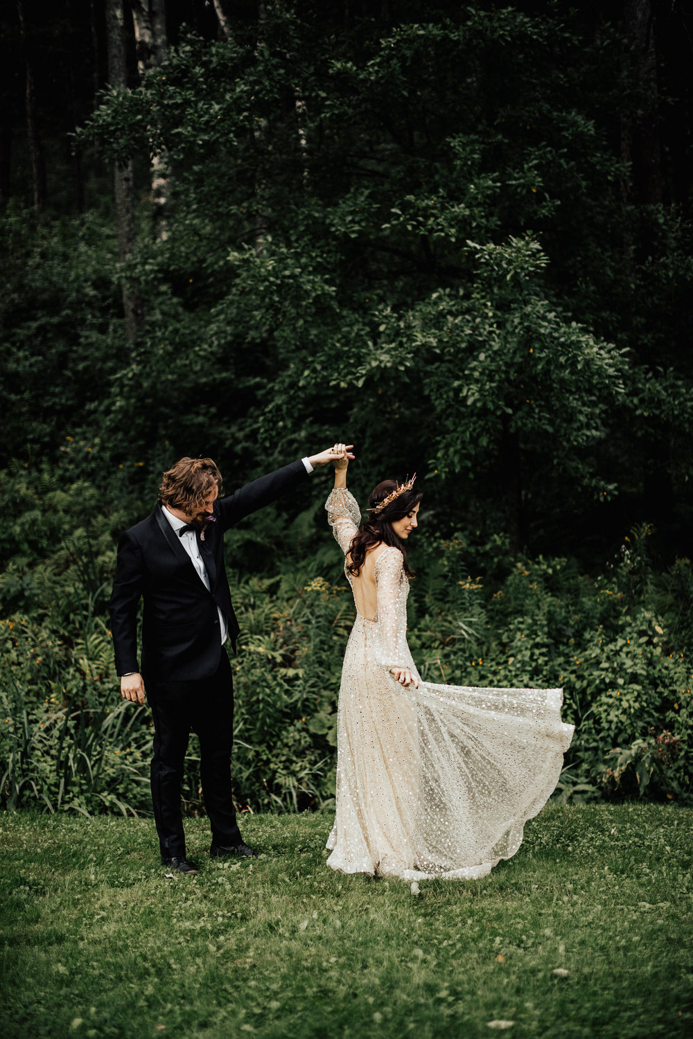 Gothic Fairytale Wedding Inspiration