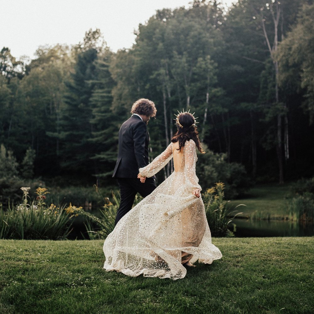 Woodstock Vermont Gothic Enchanted Wedding