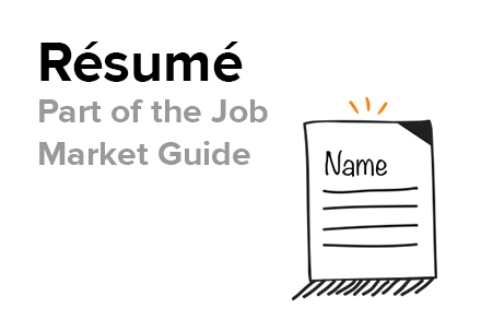 stand out in the job market resume start with why