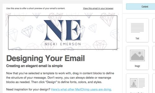 Brand Identity newsletter