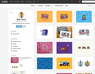 Dribbble (Sean Kerry)