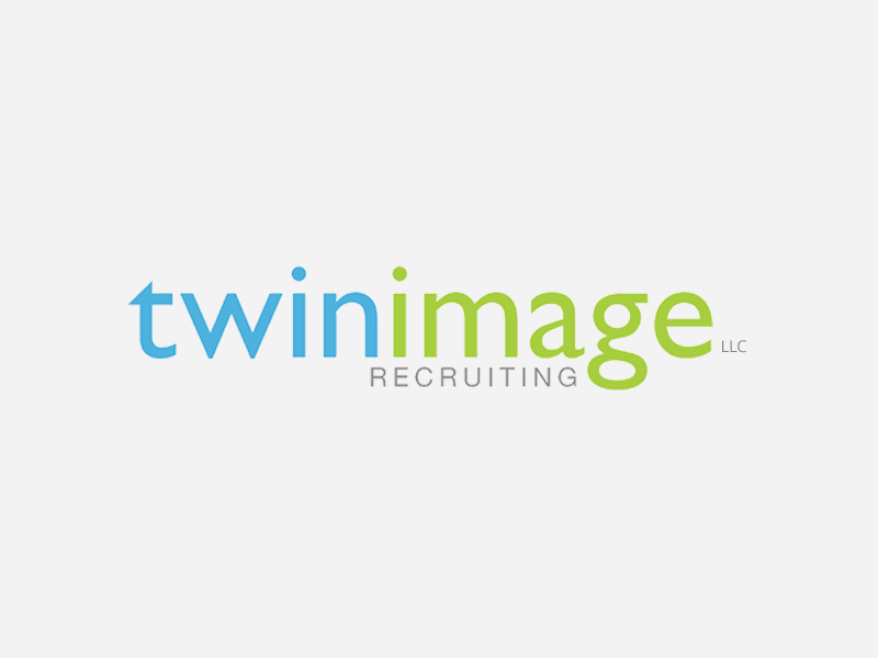 Twin Image Recruiting Logo Design