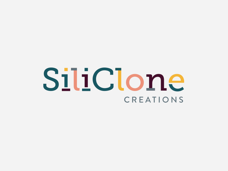 SiliClone Creations Logo Design