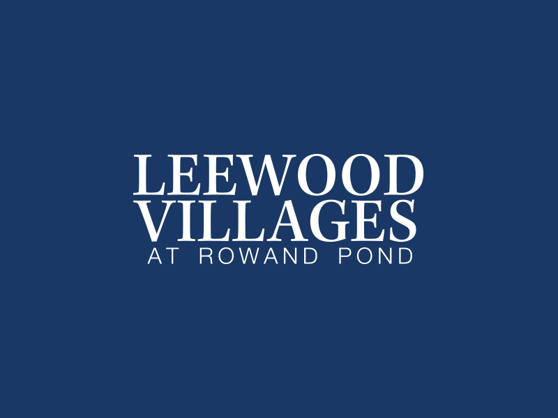 Leewood Villages Logo Design