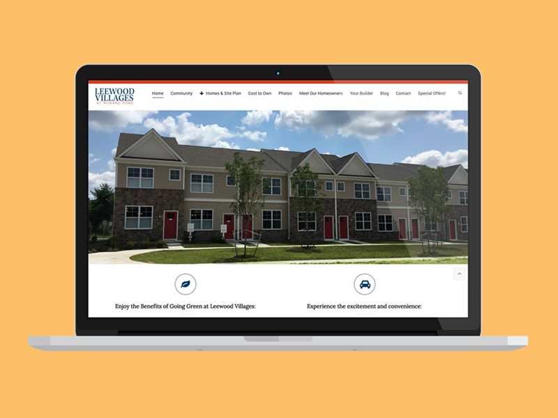 Leewood Villages Website Design