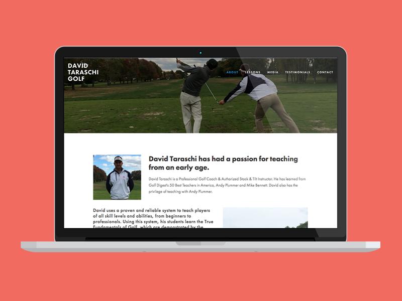 Dave Taraschi Golf