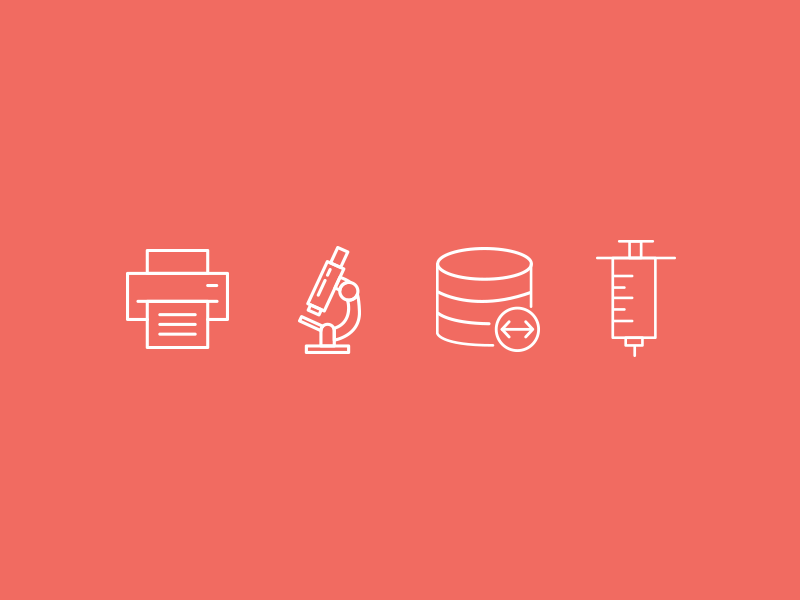 Various Tech Icons for Ambra