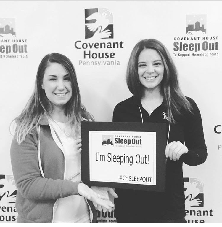 Sleep Out Team Members!