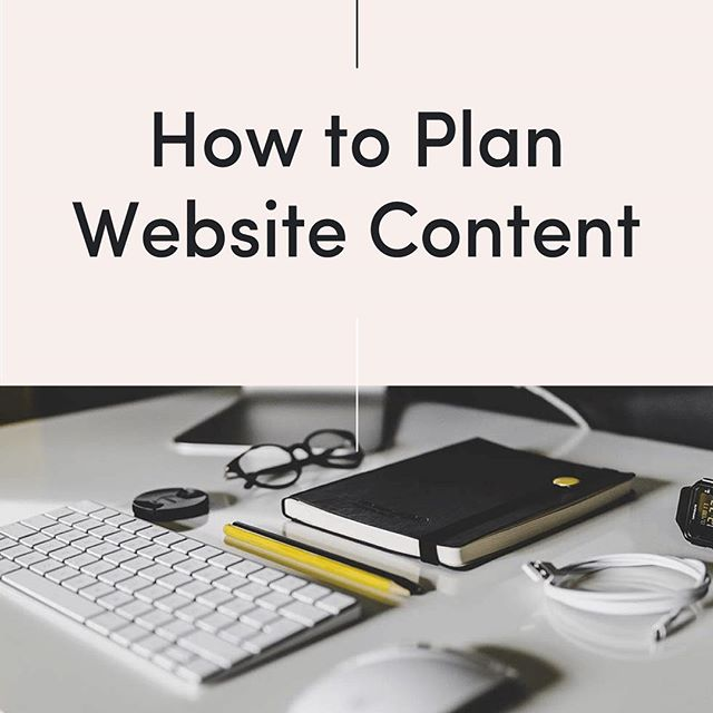 Planning and gathering website content can be one of the most challenging parts of the design process - but one of the most important! In the latest blog post, I shared my step by step process! - link in bio 👩🏼‍💻
