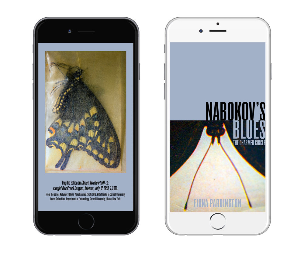 FIONA PARDINGTON,  NABOKOV'S BLUES: THE CHARMED CIRCLE      MINI PHOTOBOOK APP - FREE