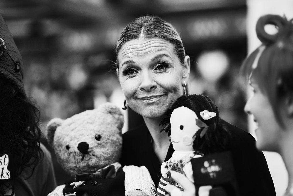 Justine Clarke, Little Ted and Jemima