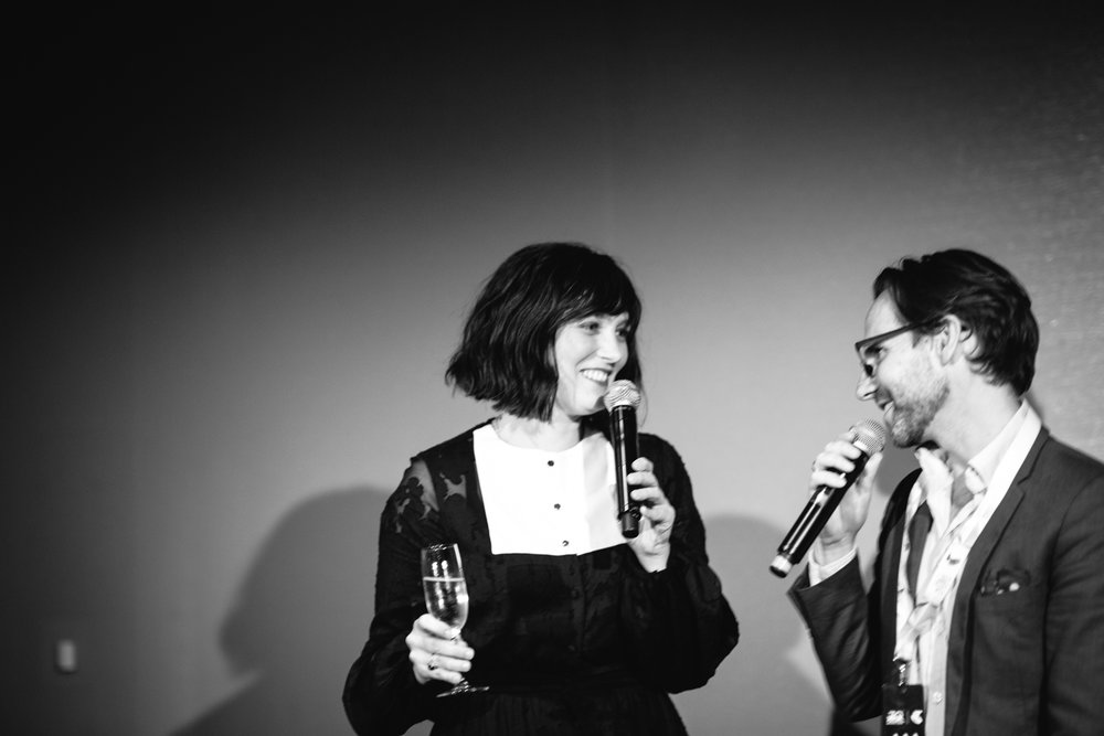 Sarah Blasko and Robbie Buck