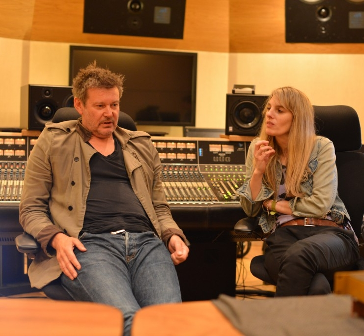 Alan Moulder and Catherine Marks image via KMR Audio
