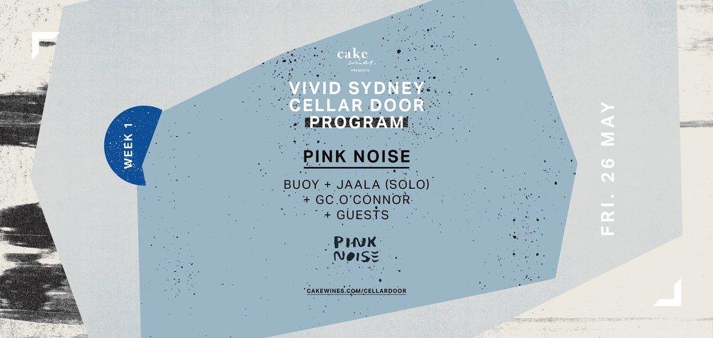 Vivid Sydney Pink Noise event