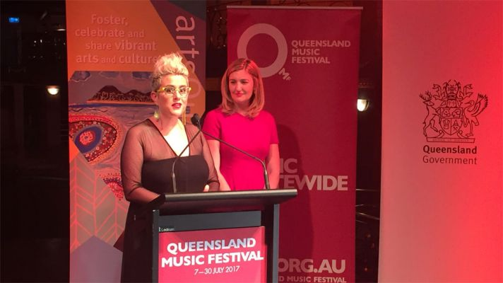 Katie Noonan is the Artistic Director of the Queensland Music Festival. Image via themusic.com.au