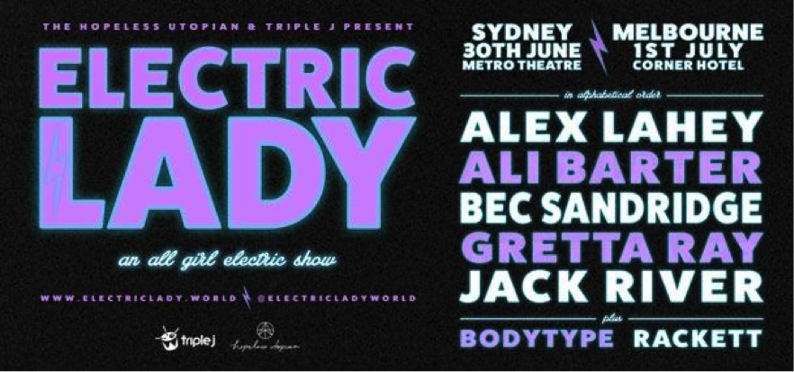 Electric Lady Music Love